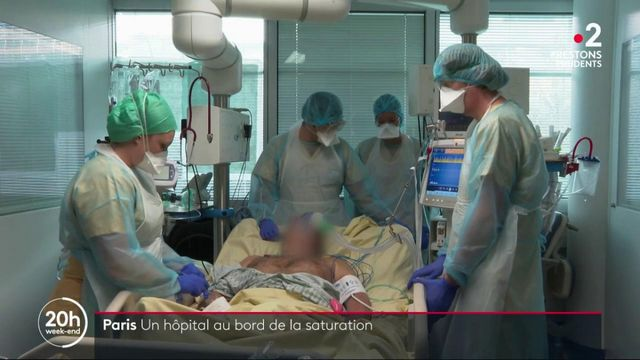 Coronavirus : à Paris, l'hôpital Georges Pompidou est au bord de la saturation