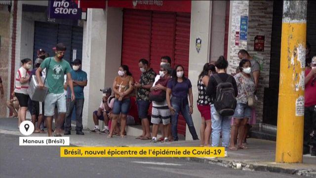 Brésil nouvel épicentre épidémie