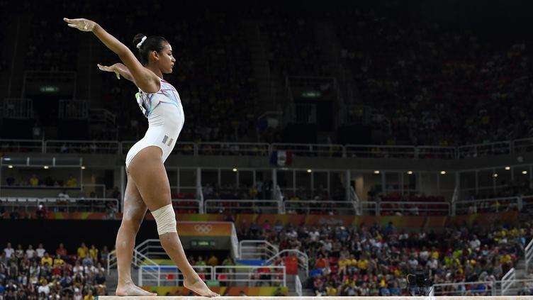 La gymnaste Française Marine Boyer (JEAN MARIE HERVIO / DPPI MEDIA)