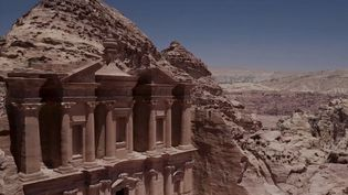 Pétra, en Jordanie. (CAPTURE ECRAN FRANCE 2)