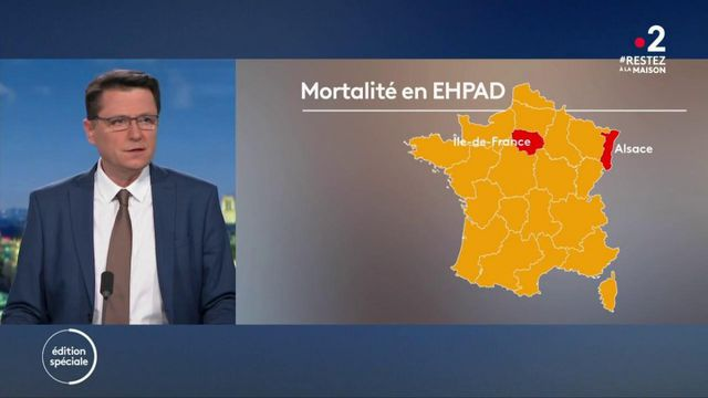 Coronavirus : un bilan de 7 896 décès dans les Ehpad