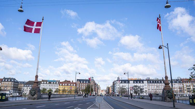 Le pontde la reine Louise à Copenhague, le 16 avril 2020, au Danemark. (RITZAU SCANPIX / AFP)