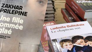 Librairie russe Salon Livre Paris / Le Globe mars 2018  (Laurence Houot / Culturebox)