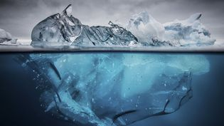 Un iceberg dans l'Antartique, le 16 mars 2015. (SOLENT NEWS / SIPA)
