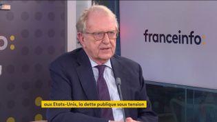 Georges Ugeux, ancien vice-président de la bourse de New York (6 octobre 2021). (FRANCEINFO / RADIO FRANCE)