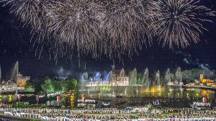 Le parc du Puy du Fou lors de son 40e anniversaire, le 16 juin 2017. (PHILIPPE CH?REL / MAXPPP)
