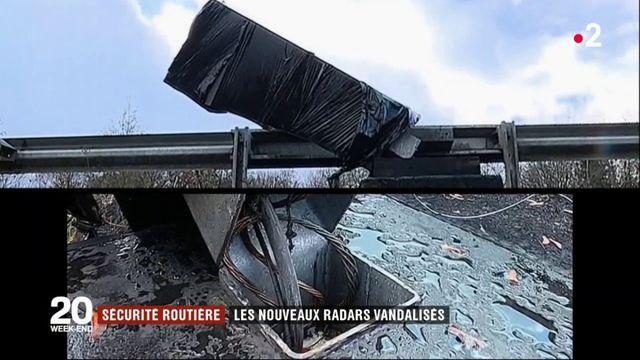 Radars : les tourelles également vandalisées