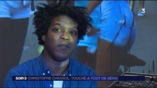 Le musicien Christophe Chassol (France 3)