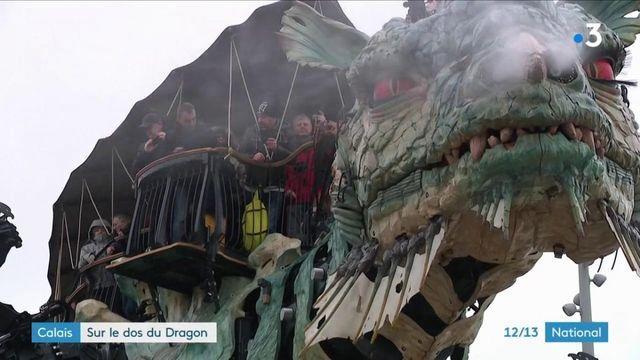Tourisme : sur le dos du dragon de Calais