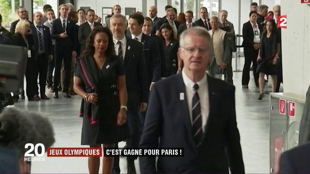 Jeux olympiques: c'est gagné pour Paris!