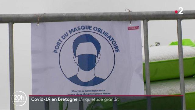 Épidémie de coronavirus : le virus progresse en Bretagne