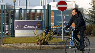Le site de recherche d'AstraZeneca à Loughborough (Royaume-Uni), le 2 mars 2010. (DARREN STAPLES / REUTERS)