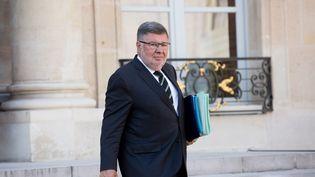 Le secrétaire d'Etat chargé des Transport, Alain Vidalies, à l'Elysée, le 14 septembre 2016. (MAXPPP)