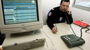 Le logiciel de statistiques des appels d'un centre de la police judiciaire. (LEFEVRE SYLVAIN / SIPA)