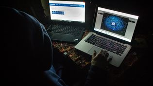 Le gardien de la paix avait une activité illicite sur le darknet de vente de faux documents. Il se faisait rémunérer en bitcoins (Image d'illustration) (AURELIEN MORISSARD / MAXPPP)