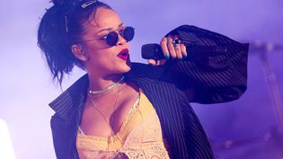 Rihanna à Hollywood (24 octobre 2015)  (Rich Fury / AP / SIPA)