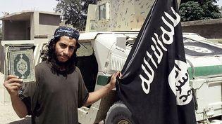 Photo non datée d'Abdelhamid Abaaoud, le commanditaire présumé des attentats de Paris. (DABIQ / AFP)