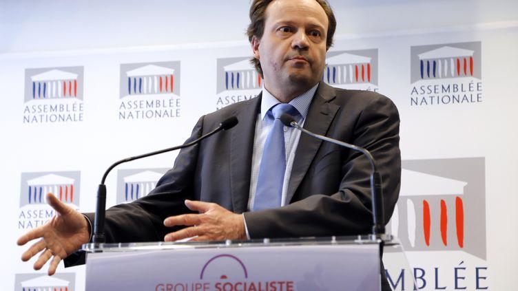 Le député PS Jean-Marc Germain, proche de Martine Aubry, le 30 avril 2013 à l'Assemblée nationale. (FRANCOIS GUILLOT / AFP)