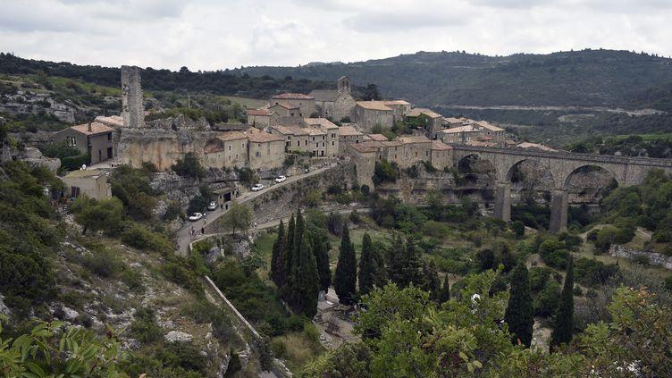 Le village cathare de Minerve dans l'Hérault. (PASCAL PAVANI / AFP)