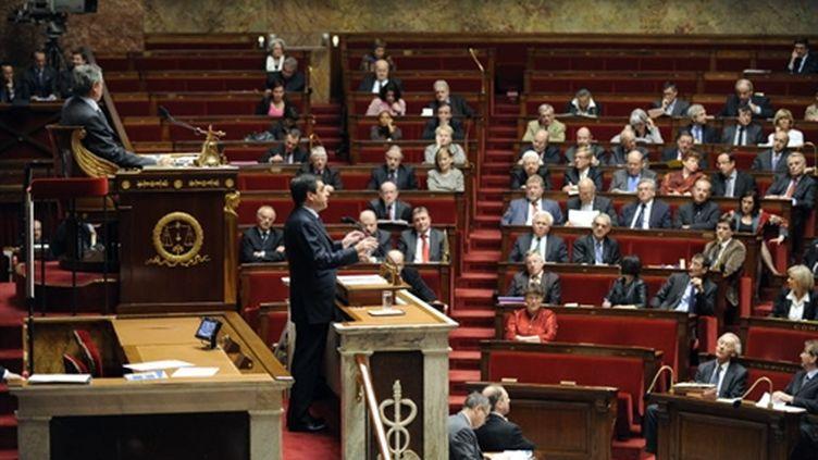 A l'Assemblée (le 17 mars 2009) (AFP - BERTRAND GUAY)