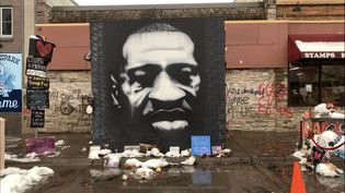 Le mémorial George Floyd à Minneapolis (Minnesota), le 24 octobre 2020 (SANDRINE MALLON / RADIO FRANCE)