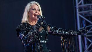 Kim Wilde sur scène en Autriche en septembre 2018. (JOHANNES EHN / APA-PICTUREDESK)