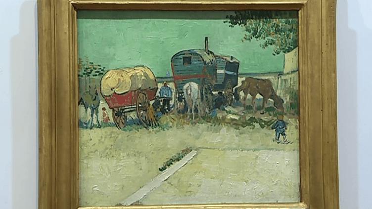 """""""Les roulottes"""" de van Gogh au musée Gassendi  (France 3 / Culturebox)"""