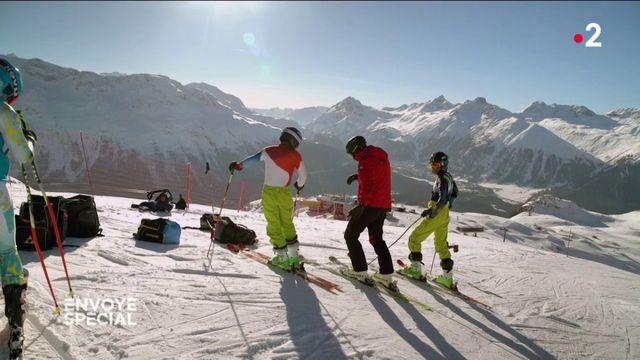 Envoyé spécial. Le Bamyan Ski Club
