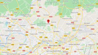 Domont (Val-d'Oise). (GOOGLE MAPS)