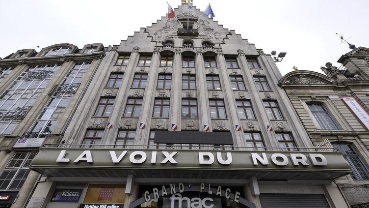 """Le siège du journal """"La Voix du Nord"""", à Lille (Nord), le 10 janvier 2017. (THIERRY THOREL / CITIZENSIDE / AFP)"""