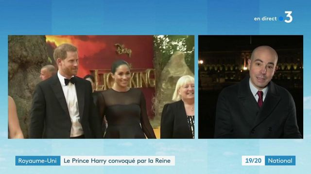 Royaume-Uni : la Reine convoque le prince Harry