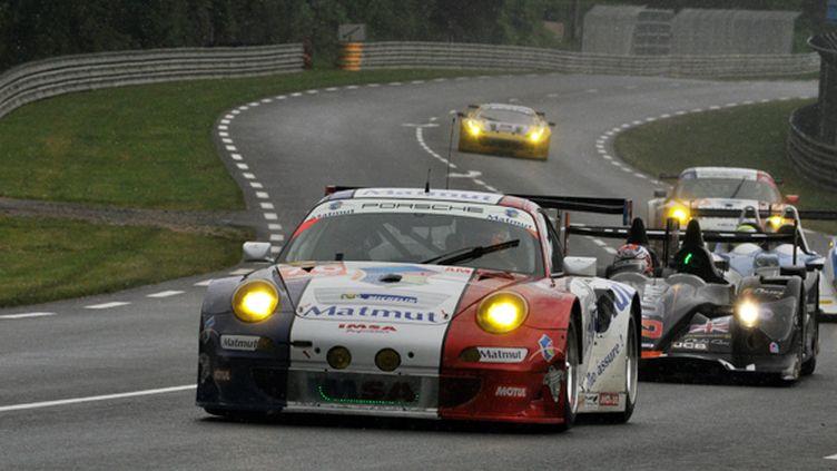 La Porsche 996 GT3 RSR d'Imsa Performance Matmut
