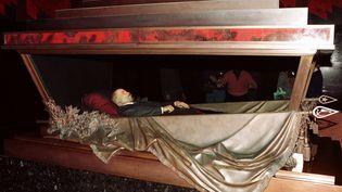 Le corps de Lénine est embaumé et conservé dans un mausolée à Moscou en Russie, depuis sa mort en 1924. (STR NEW / REUTERS)
