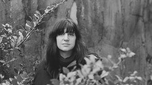 La chanteuse Anne Sylvestre en 1969. (PIERRE VAUTHEY / SYGMA)