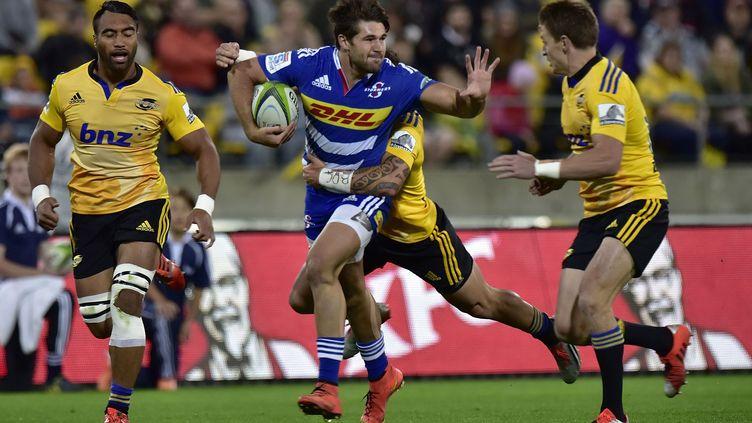 Kobus van Wyk. (MARTY MELVILLE / AFP)