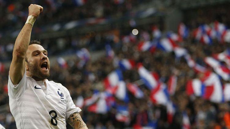 (Mathieu Valbuena a donné trois passes décisives face à la Norvège © Reuters/Charles Platiau)