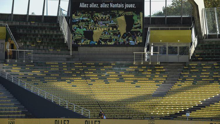 Le stade de la Beaujoire à Nantes (Loire-Atlantique). (SEBASTIEN SALOM-GOMIS / AFP)