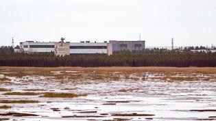 La base militaire de Nionoksa, dans la région d'Arkhangelsk(Russie), le 9 novembre 2011. (AFP)