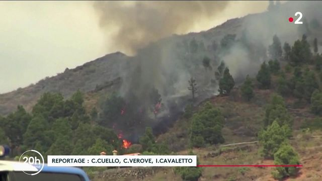 Eruption volcanique : inquiétude aux Canaries