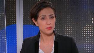 Sarah El Haïry. (CAPTURE D'ECRAN FRANCEINFO)