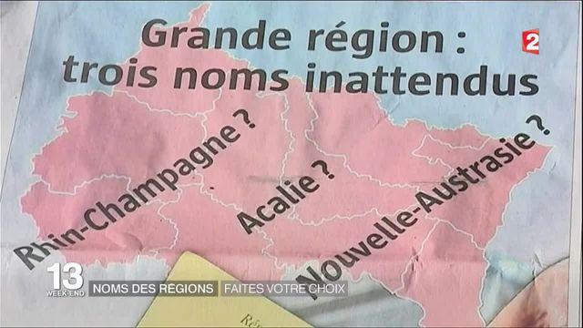 Noms de régions : des propositions qui divisent