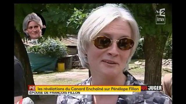 """Penelope Fillon en 2008, """"Je n'ai pas de rôle, je l'accompagne de temps en temps comme ça"""""""