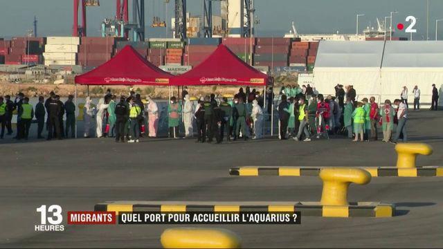 "Migrants : quel port pour accueillir l''Aquarius"""