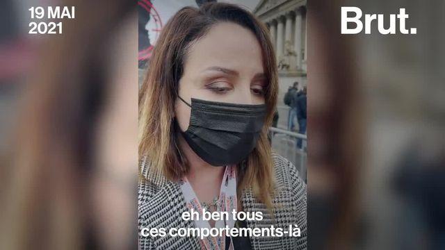 """""""Manque de sévérité de la justice"""", """"manque de moyens""""... La syndicaliste Linda Kebbab raconte le mal-être des policiers. Voilà pourquoi elle manifestait à Paris."""