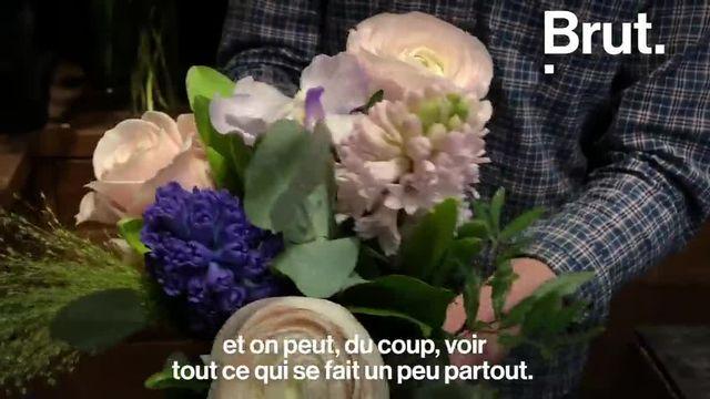 À 21 ans, Audric Ronfort manie les fleurs avec talent et ambition. Brut l'a rencontré.