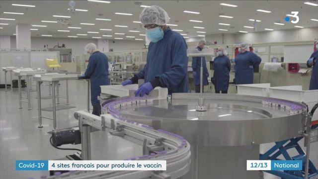 Coronavirus : quatre sites français produiront des vaccins anti-Covid