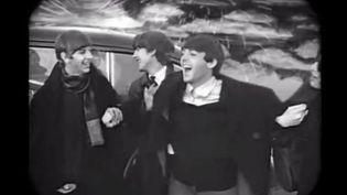 """Les beatles dans le clip de """"Worlds of Love"""", publié en 2013 par la maison de disques Apple Corp. (VEVO / YOUTUBE)"""