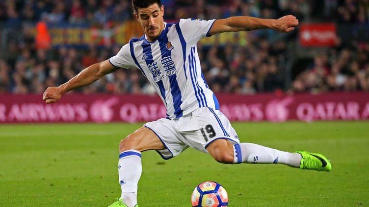 Yuri Berchiche, latéral gauche de la Real Sociedad annoncé au PSG.  (JOAN VALLS/URBANANDSPORT / NURPHOTO)