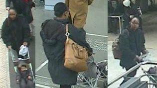 Les images de surveillance sur lesquelles on aperçoit Fabienne Kabou et sa fille, Adélaïde, 15 mois, le 19 novembre 2013. (DR)