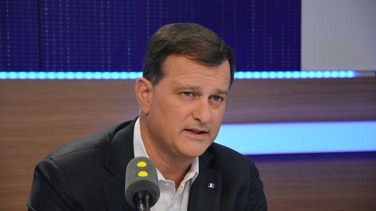 Louis Aliot,sur franceinfo le 26 décembre 2016 (JEAN-CHRISTOPHE BOURDILLAT / RADIO FRANCE)